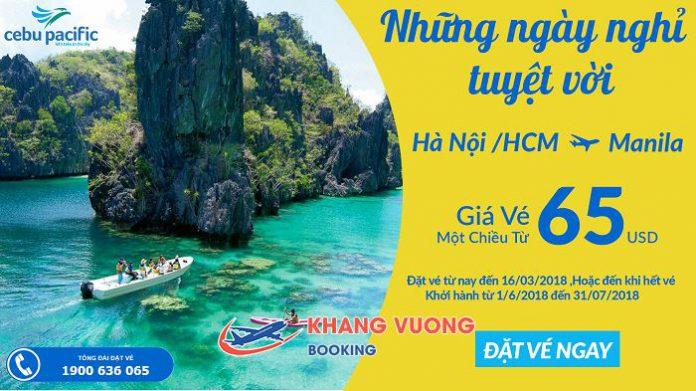 Cebu khuyến mãi giá chỉ từ 65 USD