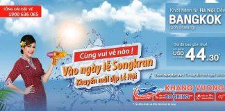 Thai Lion Air khuyến mãi hấp dẫn chỉ từ 44.30 USD