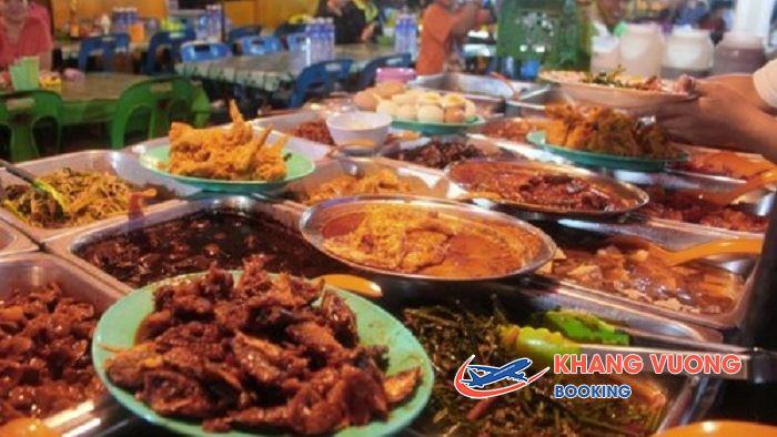 Khám phá chợ ẩm thực tại Kota Kinabalu
