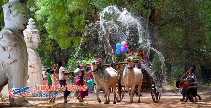 Lễ hội té nước Thingyan