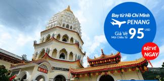 Khuyến mại vé bay Malaysia Airlines chỉ từ 95 USD