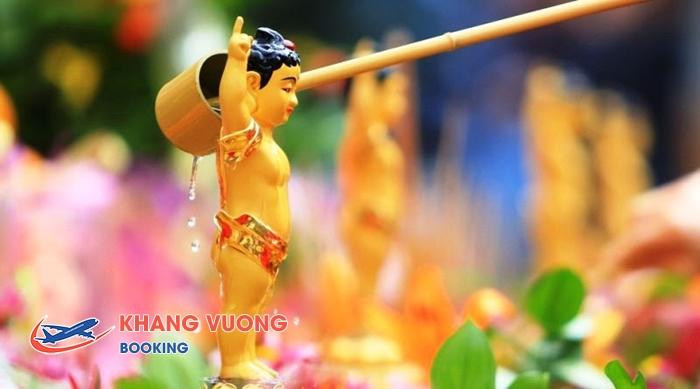 Tắm Phật trong Lễ hội Songkran