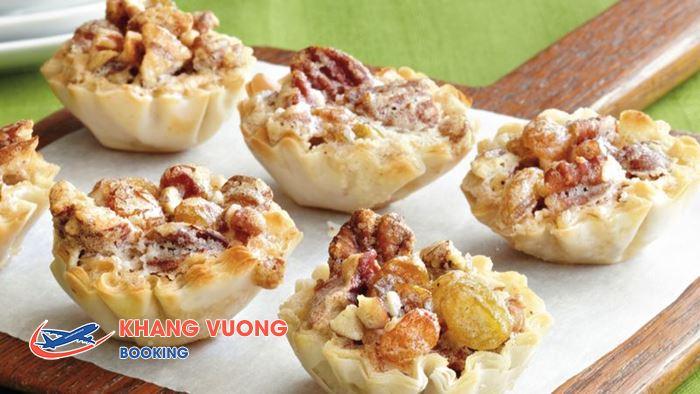 Tarte loại bánh khá dễ làm và phổ biến nhất