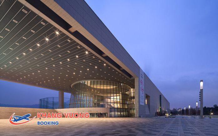 Bảo tàng quốc gia với hơn 220.000 hiện vật văn hóa được trưng bày