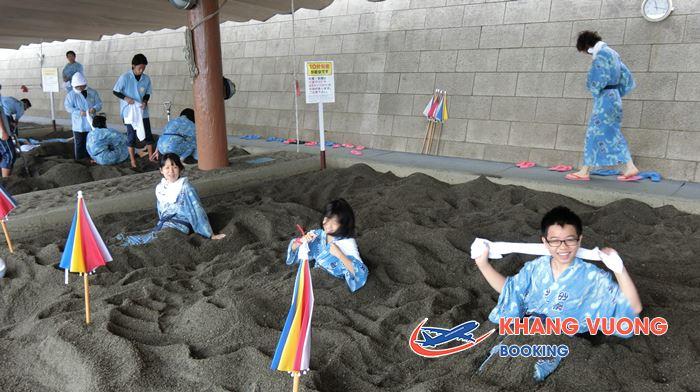 Ibusuki là địa điểm yêu thích nhất của khách du lịch