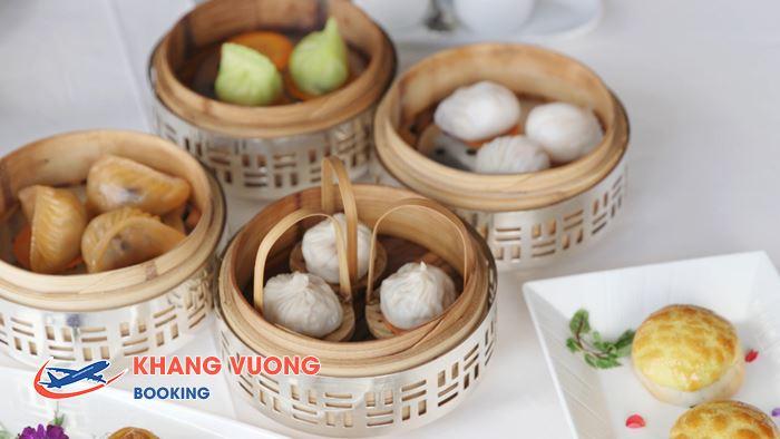 dim sum một trong những món ăn nổi tiếng tại Hong Kong