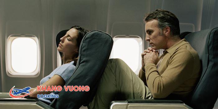 Chú ý đến việc ngả lưng ghế
