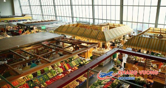 Chợ Kleinmarkthalle ở Frankfurt