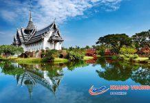 Thái Lan với hệ thống đền chùa đẹp