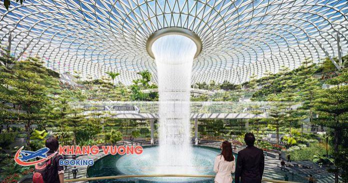 Thác nước trong nhà cao nhất thế giới