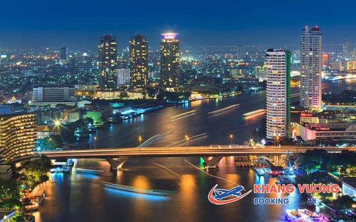 Bangkok vẻ đẹp lộng lẫy từ trên cao