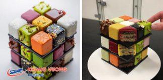Bánh kem như một khối Rubik