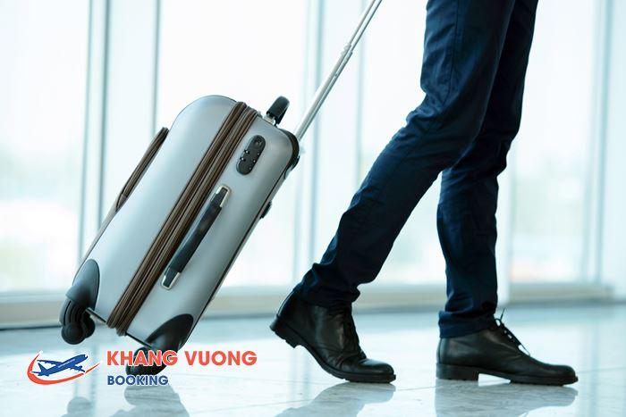 Hành lý được xách theo lên máy bay tối đa là 7 kg
