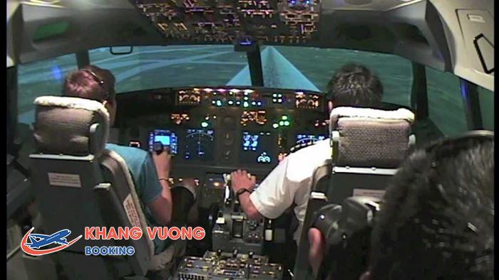 Trải nghiệm máy bay phản lực Jumbo tại Flight Experience Singapore