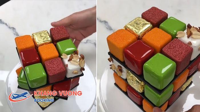 Bánh kem như một khối Rubik Bánh kem như một khối Rubik