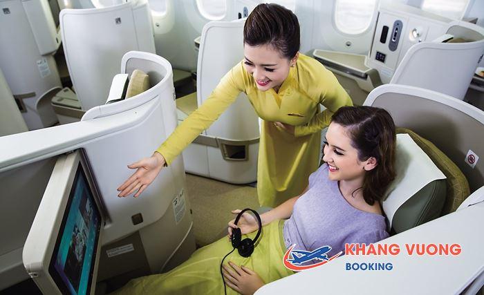 Tiện ích của Vietnam Airlines đem đến cho hành khách