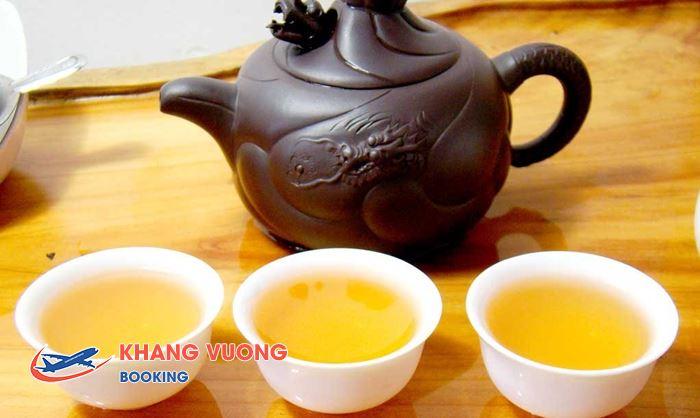Trà được xem là một nét văn hóa của người Trung Quốc