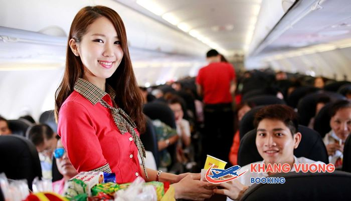 Đồ uống trên các chuyến bay VietJet