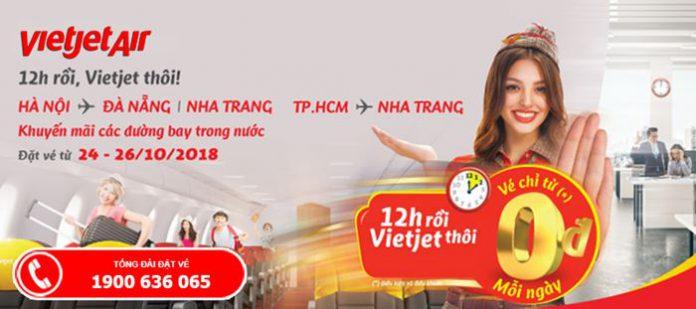 Vietjet Air mở bán 2.000.000 vé máy bay 0 đồng