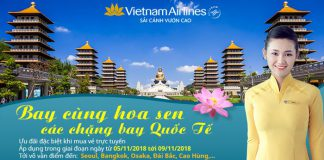 Khuyến mãi lớn từ Vietnam Airlines trong 5 ngày vàng