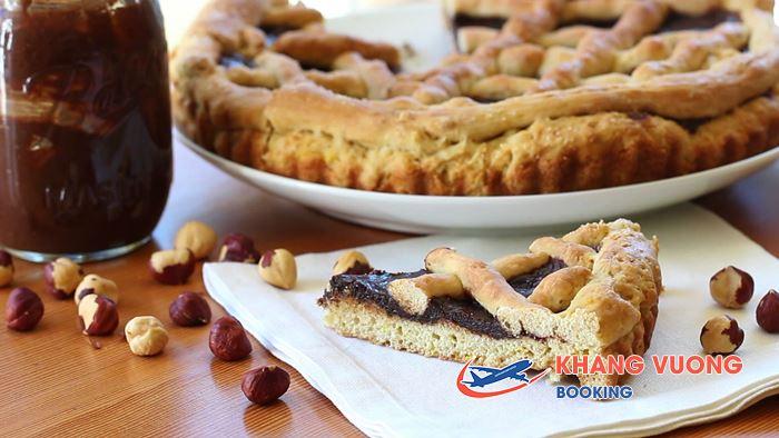 Bánh Crostata với nguyên liệu chính là Pho mát ricotta