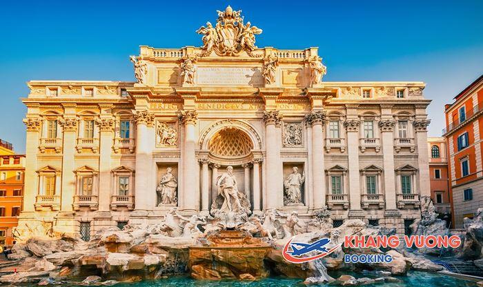 Rome Ý thành phố hấp dẫn du khách với những kiến trúc cổ