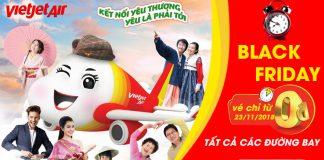 Chỉ 1 ngày duy nhất từ Vietjet Air 1.000.000 Vé 0 đồng