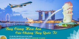Vietnam Airlines vé máy bay khứ hồi chỉ 112 USD