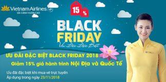 Giảm 15% vé máy bay nhân ngày Black Friday 2018