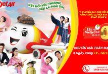 3.000.000 vé 0 đồng từ Vietjet Air