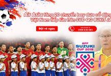 Air Asia tăng 20 chuyến bay đến Malaysia