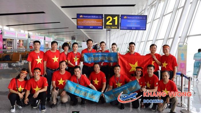 Vietnam Airlines sát cánh cùng ĐTQG Việt Nam