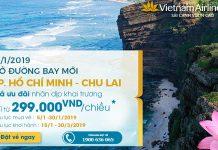 Hồ Chí Minh – Chu Lai. Vé máy bay khuyến mãi chỉ từ 299.000