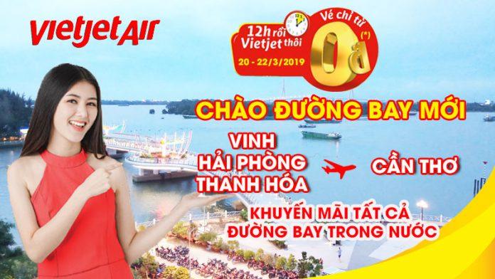 Cùng Vietjet Khám phá vẻ đẹp Việt Nam chỉ từ 0 đồng