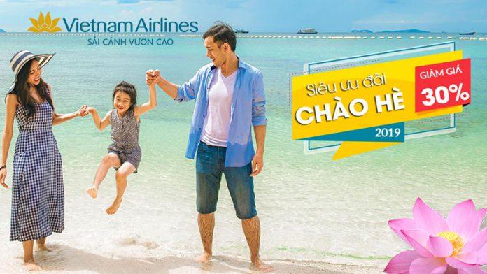 Khuyến mãi lớn từ Vietnam Airlines vé máy bay chỉ 9 USD