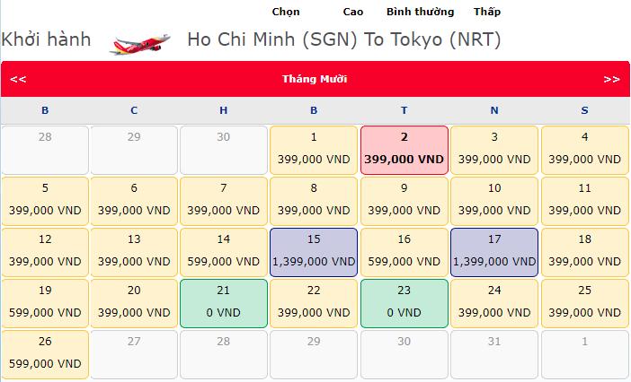 Vé máy bay 0 đồng từ Vietjet Air chào mừng đường bay mới đến Tokyo