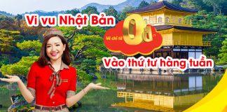 Săn vé máy bay khuyến mãi chỉ từ 0 đồng mỗi thứ 4 từ Vietjet Air