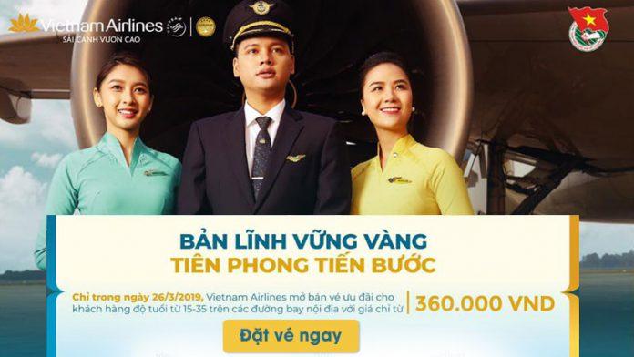 Vé máy bay khuyến mãi chỉ 360.000 VNĐ nhân ngày 26/3