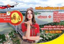 Khuyến mãi vé máy bay 0 đồng từ Vietjet Air đón hè sôi động