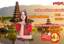 Vietjet Air tung hàng triệu vé 0 đồng trải nghiệm đảo ngọc Bali
