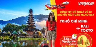 Khuyến mãi 1,2 vé 0 đồng cùng Vietjet Air đón hè sôi động