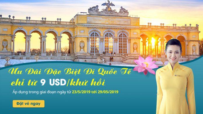 Siêu khuyến mãi chỉ 9 USD cùng Vietnam Airlines khám phá thế giới