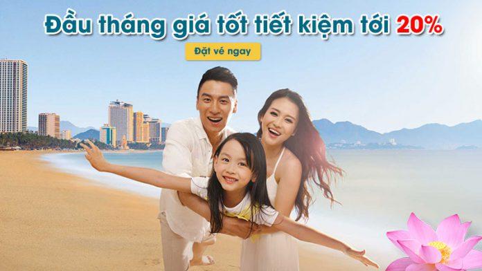 Khuyến mãi giảm 20% giá vé nội địa và quốc tế từ Vietnam Airlines
