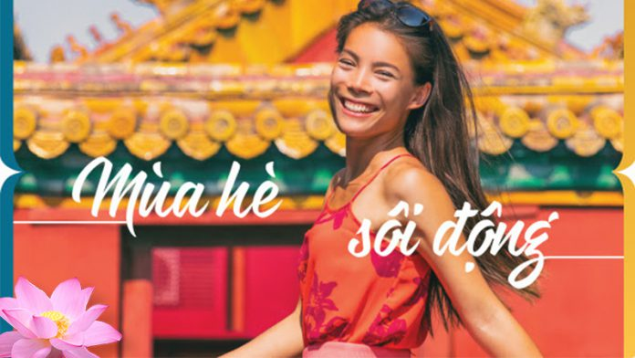 Tận hưởng mùa hè sôi động với khuyến mãi lớn từ Vietnam Airlines