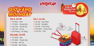 Vé khuyến mãi 0 đồng ngập tràn đường bay từ Vietjet Air