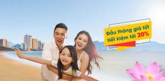 Vietnam Airlines khuyến mãi 20% giá vé máy bay chào tháng 8