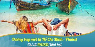 Khuyến mãi chỉ 19 USD bay thẳng đến Phuket cùng Vietnam Airlines