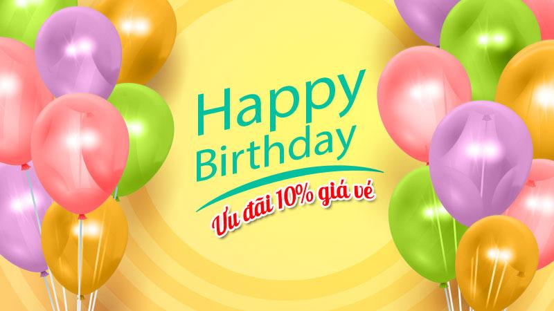 Mừng sinh nhật website lần thứ 11 giảm 10% giá vé Vietnam Airlines