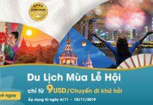 Khuyến mãi Vietnam Airlines khám phá lễ hội độc đáo chỉ từ 9 USD