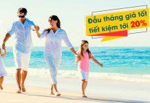 Vietnam Airlines khuyến mãi 5 ngày vàng đầu tháng giá tốt